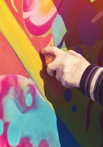 """Starptautiskais Grafiti ielu mākslas festivāls """"Brīvības stāsti"""""""