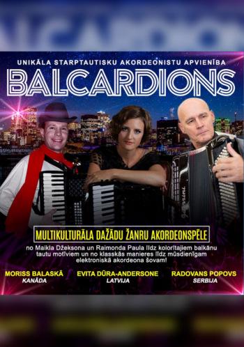Starptautisks akordeonu šovs TRIO BALCARDIONS