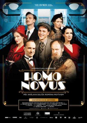 """KINO! Spēlfilma """"Homo novus"""""""