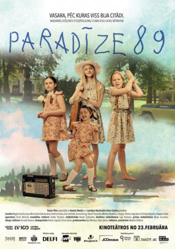 """Ģimenes piedzīvojumu filma """"Paradīze 89"""" (Latvija,Vācija 2018)"""