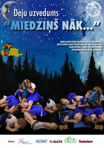 """JPPI """"Kultūra"""" BJDK """"Vēja Zirdziņš"""" deju uzvedums """"Miedziņš nāk"""" – labdarības koncerts"""