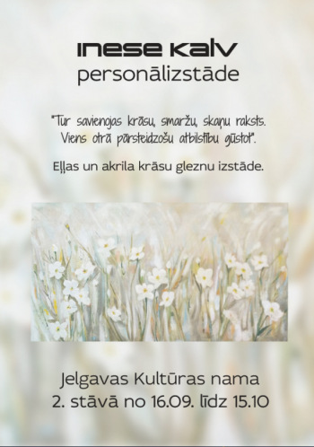 Inese Kalv. Personālizstāde