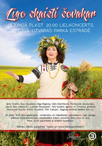 "TV3 Līgo Jelgavā ""Līgo skaisti šovakar!"""