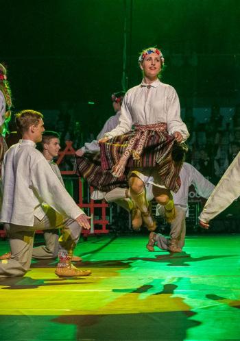 """BJC """"Junda"""" tautas deju kolektīvu """"Jundaliņi"""", """"Jundēni"""" un """"Jundari"""" deju uzvedums """"Mades burtnīca"""""""