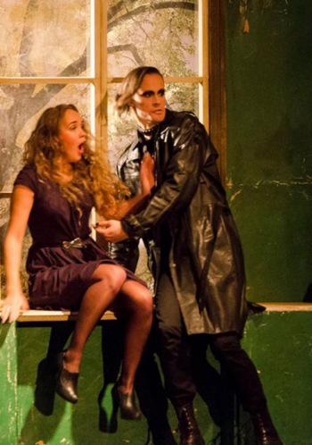 """Ā.Alunāna Jelgavas teātra izrāde - Aiva Birbele """"Koridors"""""""