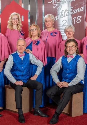 """Senioru vokālā ansambļa """"Vīzija"""" koncerts"""