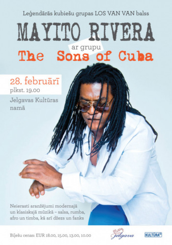Mayito Rivera un grupas The Sons of Cuba koncerts