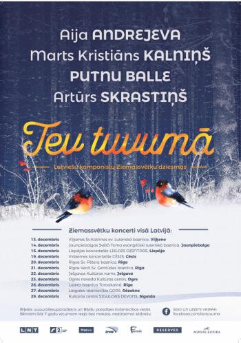 """Ziemassvētku koncerts """"Tev tuvumā 2019"""""""