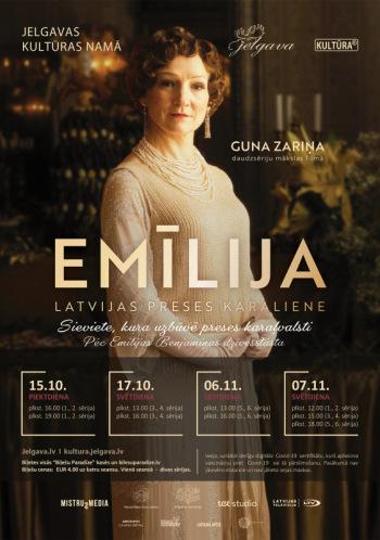 KINO/ Emīlija. Latvijas preses karaliene/ 1. un 2. sērija