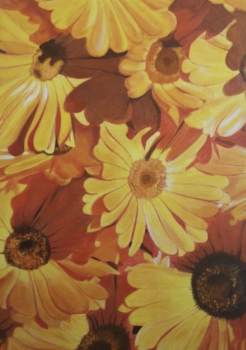 """JPPI """"Kultūra"""" Tautas gleznošanas studijas plenēra darbu izstāde"""