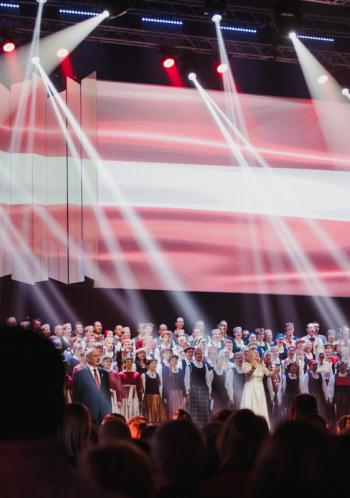 """Muzikāls ceļojums """"Apkārt Latvijai"""""""