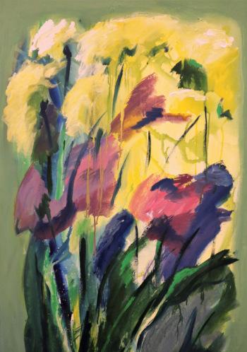 "Indras Grasbergas gleznu izstāde ""Izjūtu Latviju"""