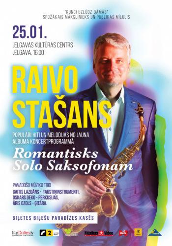 """Raivo Stašans """"Romantisks solo saksofonam"""""""