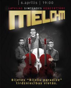 """""""MELO-M"""" Latvijas Simtgades koncerttūre"""
