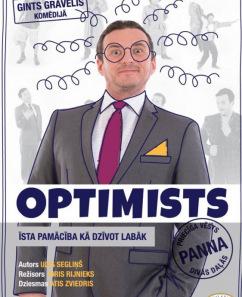 """Priecīga vēsts divās daļās """"Optimists"""""""