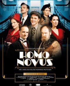 """KINO. Spēlfilma """"Homo novus"""""""