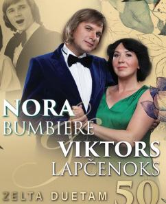 Nora un Viktors. Zelta duetam 50 muzikāla vīzija izrādē
