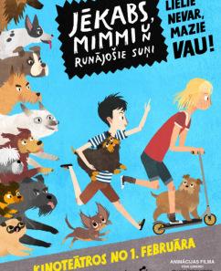 """Animācijas filma """"Jēkabs, Mimmi un runājošie suņi"""""""