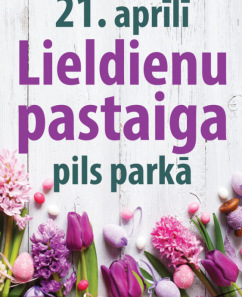 Lieldienu pastaiga Jelgavas pils parkā