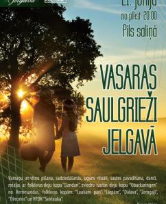 Vasaras saulgrieži Jelgavā