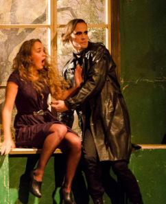 "Ā.Alunāna Jelgavas teātra izrāde A.Birbele ""Koridors"""