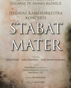 "Jelgavas Kamerorķestra koncerts ""Stabat Mater"""