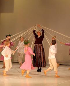 Jelgavas pilsētas skolu jaunatnes deju kolektīvu skate