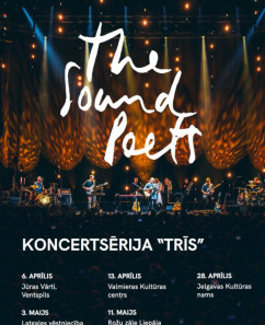 The Sound Poets koncerts 'Trīs'