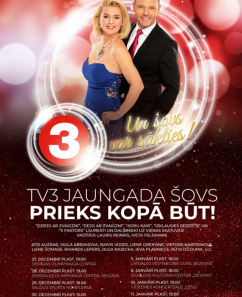 """Piedzīvo krāšņu TV3 Jaungada šovu """"Prieks kopā būt!""""!"""