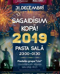 """Jaunā gada sagaidīšana Jelgavā ar grupu """"Līvi""""!"""