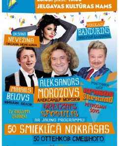 GREIZAIS SPOGULIS - 50 SMIEKLĪGĀ NOKRĀSAS