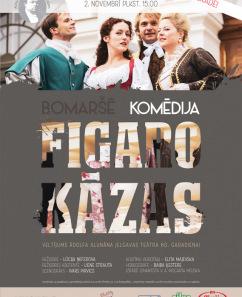 "PIRMIZRĀDE! Bomaršē komēdija ""Figaro kāzas"""