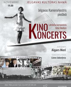 """Kinokoncerts"" ar Jelgavas kamerorķestri"