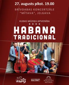 Kubas mūziķu apvienība HABANA TRADICIONAL