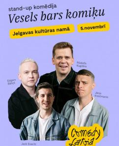 """COMEDY LATVIA: """"VESELS BARS KOMIĶU"""""""