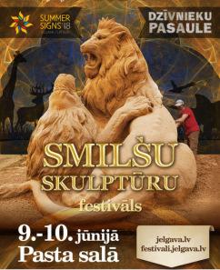 12. STARPTAUTISKAIS SMILŠU SKULPTŪRU FESTIVĀLS JELGAVĀ