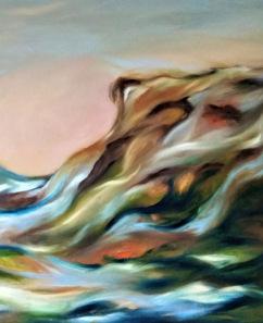 "Andas Dzenītes gleznu izstāde ""Imagine*"""
