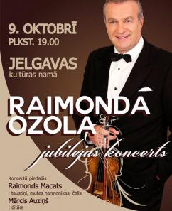 Raimonda Ozola jubilejas koncerts