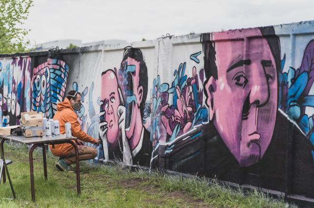 """Ielu mākslas festivāls - """"Grafiti. Izlaušanās. Jelgava."""" / 21.05.21."""