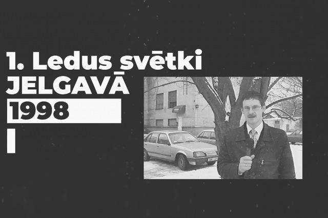 Kā radās Ledus skulptūru festivāls Jelgavā?