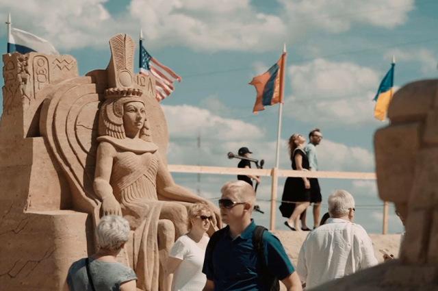 """Video atskats uz smilšu skulptūru festivālu """"Summer Signs'19"""""""