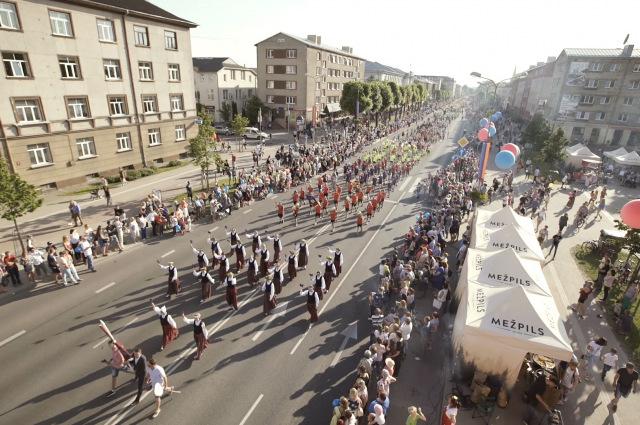 """Jelgavas pilsētas svētku gājiens """"Mēs esam Jelgava"""" 2018"""